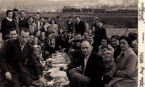 Sa Prvomajskog uranka u Adi 1955.