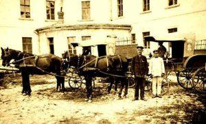 Poštanska kola koja su saobraćala i do Užica sve do početka prvoga svetskog rata