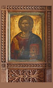Ikona u crkvi Sv. Marka u Užicu (foto Turistička organizacija Užice)