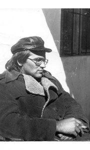 Pokojni arheolog Miloje Mandić na početku karijere