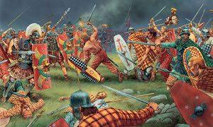 Borba Kelta i Rimljana