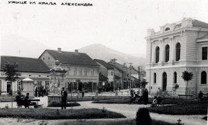Česma Opančarskog esnafa u samom centru Parčića