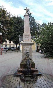 Česma u spomen proti Gavrilu Popoviću kod Saborne crkve