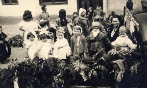 Prevoz dece za karneval 1956.