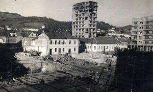Izgradnja trga krajem pedesetih