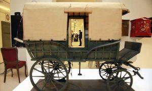 Poštanska kola (foto PTT muzej Beograd)