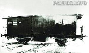 Ćirin poštanski vagon iz 1914. god. (foto paluba.info)