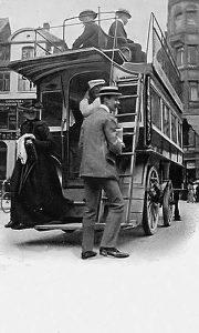 Omnibus 1907. godine u Kopenhagenu