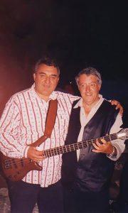Dve užičke muzičke legende skorijih dana - Milan Jevtić (levo) i Pavle Zarić