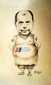 Tihi u strankama (karikatura Željka Tomaševića)