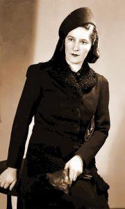 Fotografiju ove užičke gospođe je takođe snimio I. Lazić, odiše gospostvenošću
