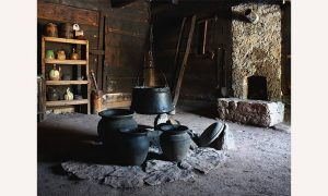 Staro selo Sirogojno - Ognjište