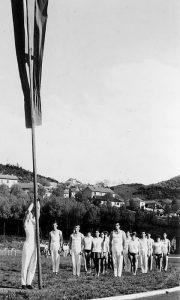 Sreten Dimitrijević podiže zastavu na sletu kao najbolji sportista
