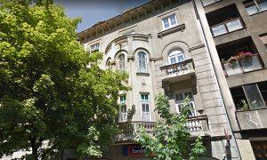 Kuća Užičanina Sime Aćimovića u ulici Kraljice Natalije 21 u Beogradu (foto Google Street View)