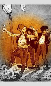 Užička karikatura iz 1904.