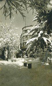 Palas i Parčić u zimskoj idili