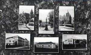 Na kolaž razglednici iz 1932. godine značajne i lepe zgrade tadašnjeg Užica