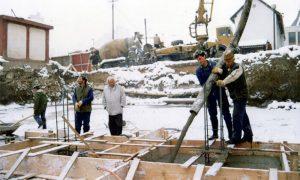 Radnici na izgradnji pošte