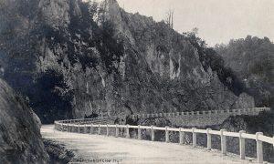 Na fotografiji Ilije Lazića je novi put od Užica do Zlatibora, građen 1925-1928.