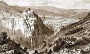 Kanicov crtež Užica i varoši, 1860.