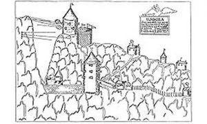 Crtež opsade Užica 1737. god.