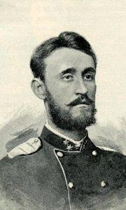 Major Mihajlo Ilić srpske vojske, poginuo za vreme Srpsko-Turskog rata 1876. godine na Javoru