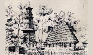 Crkva Sv. Marka Užicu, skica Feliksa Kanica