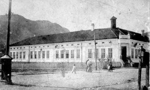 Zgrada prva užičke osnovne škole u doba Feliksa Kanica