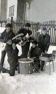 Meteori sa prijateljem Branislavom, tada kad su zadužili istrumente