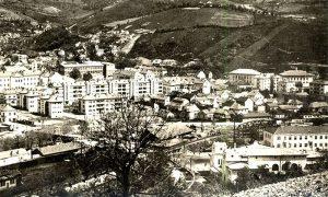 Deo Užica u okolini Sokolane pedesetih godina 20. veka