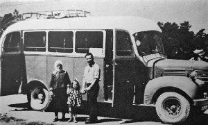 Jedan od prvih posleratnih autobusa pravljen u Užicu (foto Aleksandar Ristić)