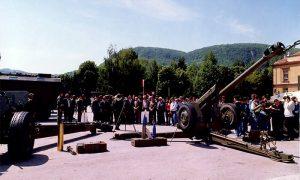 Proslava 50 godina pobede nad fašizmom u Užicu