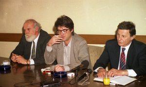 Pres konferencija u opštini 1999.
