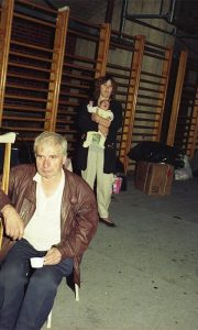 Izbeglice u užičkoj Hali sportova, 9. avgust 1995.