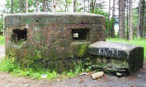 Bunker u Borićima nekad na Dovarju