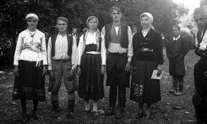 Fotografija Ilije Lazića sa Teferiča u Adi iz dvadesetih godina 20. veka