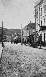 Glavna ulica Užica na početku druge decenije 20. veka