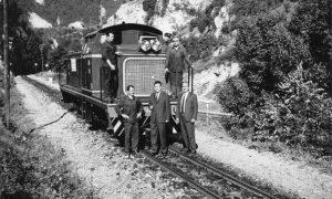 Dizel lokomotiva koja je saobraćala u Užičkom kraju (foto Mišo Poznanović)