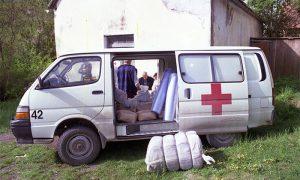 Nedelja Crvenog krsta u Mokroj Gori, 11. maj 1996.