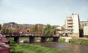 Užice 1998, nekadašnji most ka Međaju