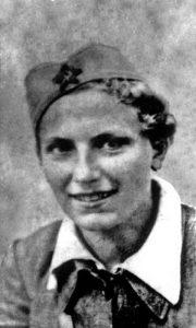 Dana, mlada partizanka 1942.
