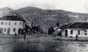 Žitna pijaca krajem 19. veka (foto puškar Nikola Lazić)