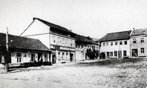 Žitna pijaca 1912. godine (foro Milorad Lazić)