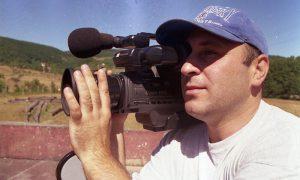 Dragan Panić Panja, tada kamerman TV5 Užice