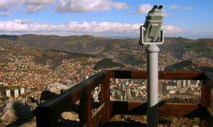 Vidikovac i teleskop na Bioktošu