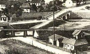 Posmatrano od strane Velikog parka završeno kupatilo, nadvožnjak i Aleksadrov most