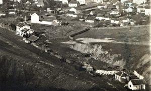 Begluk posle izgradnje železiničke stanice