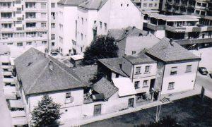 """Blok kuća na mestu sadašnjeg """"Sivonje"""""""