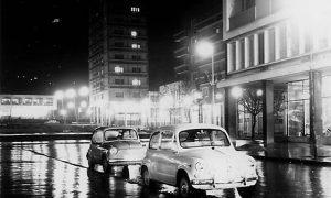 Fotografija Vlajka Kovačevića trga i fića iz 1966.