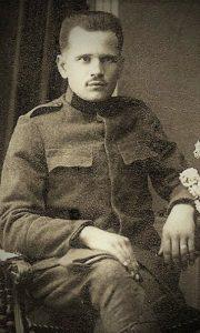 Vitomir Kovačević, pred polazak u Albanske ratove 1912.